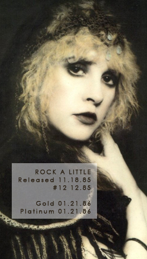 Stevie Nicks Her Music Discography Rock A Little