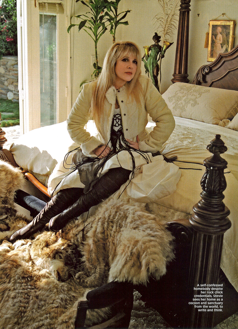 Stevie Nicks in Women's Weekly Dec 2005 – The Changing